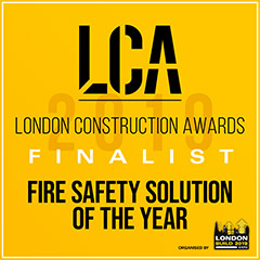 LCA Fire Safety Solution Of The Year 2019